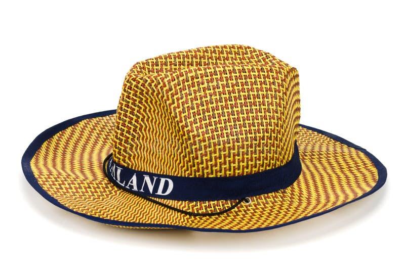 Cappello di paglia grazioso fotografie stock