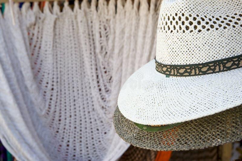 Cappello di Panama fotografie stock