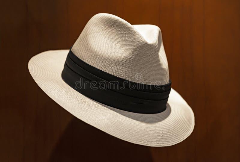 Cappello di Panama a Cuenca, Ecuador fotografia stock libera da diritti