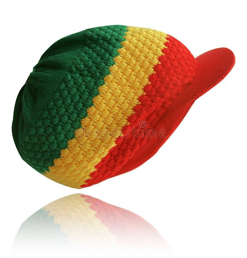 Cappello di Rasta fotografia stock