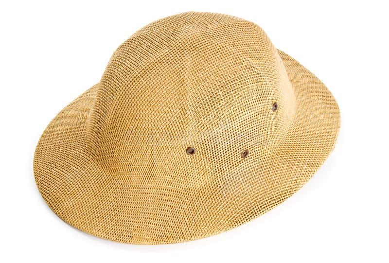 Cappello di safari fotografia stock