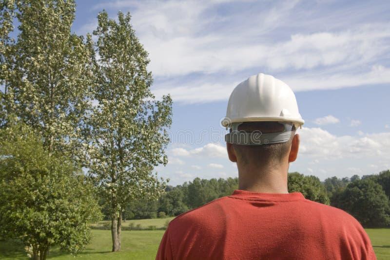 Cappello duro immagine stock