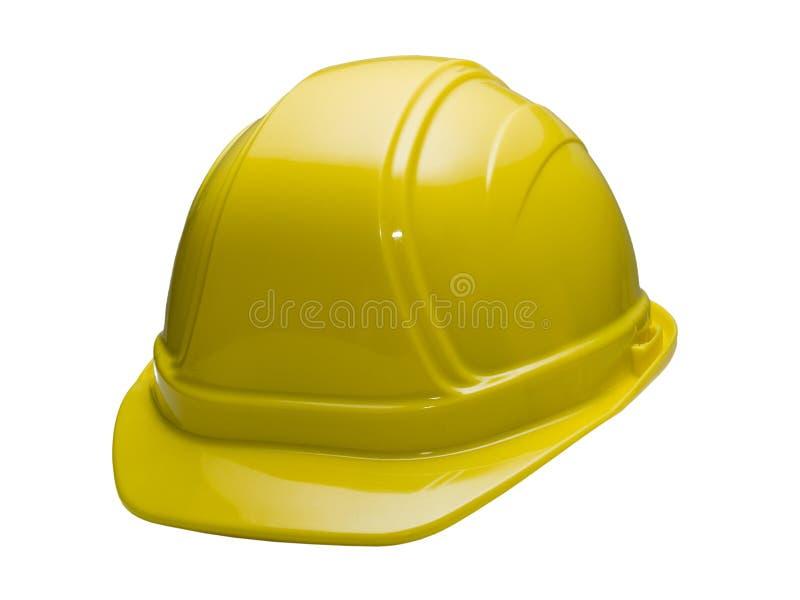 Cappello duro giallo immagine stock libera da diritti