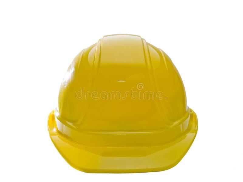 Cappello duro giallo fotografie stock libere da diritti