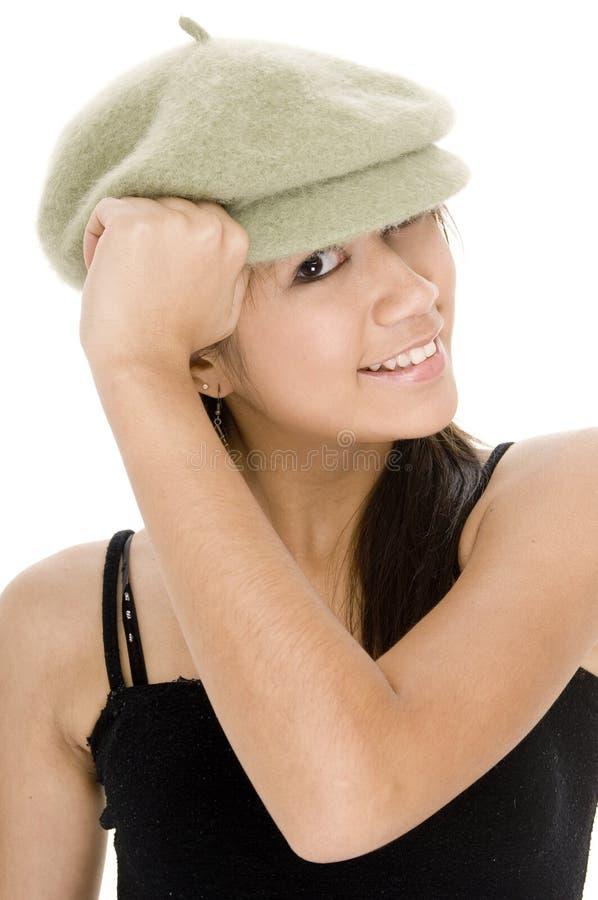 Cappello freddo 1 immagini stock libere da diritti