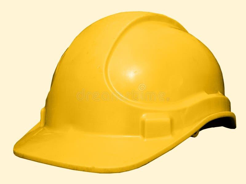 Download Cappello giallo fotografia stock. Immagine di protezione - 217254