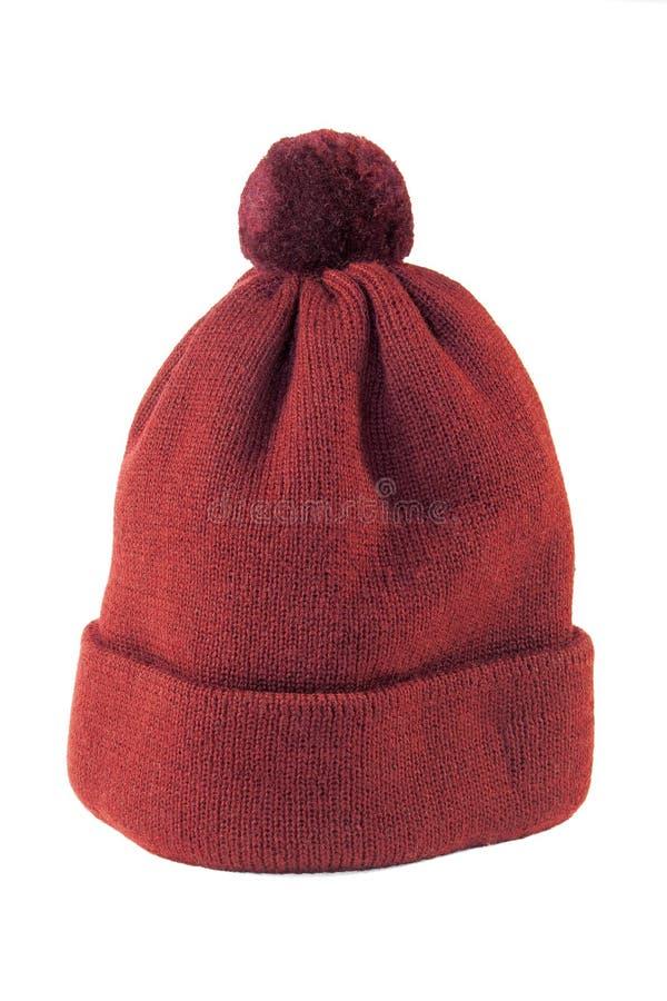Cappello lavorato a maglia fotografia stock libera da diritti