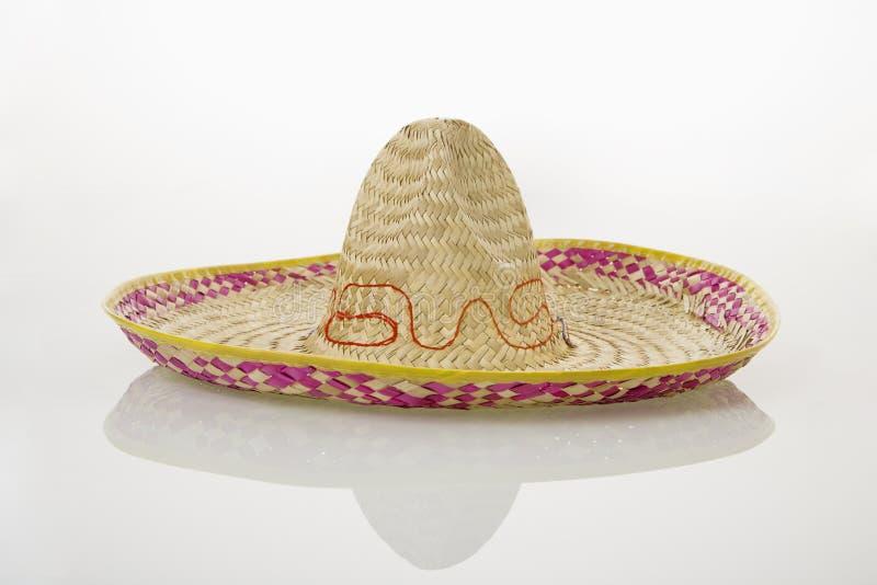 Cappello messicano del sombrero. fotografia stock libera da diritti