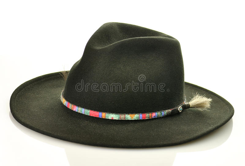Cappello nero immagini stock