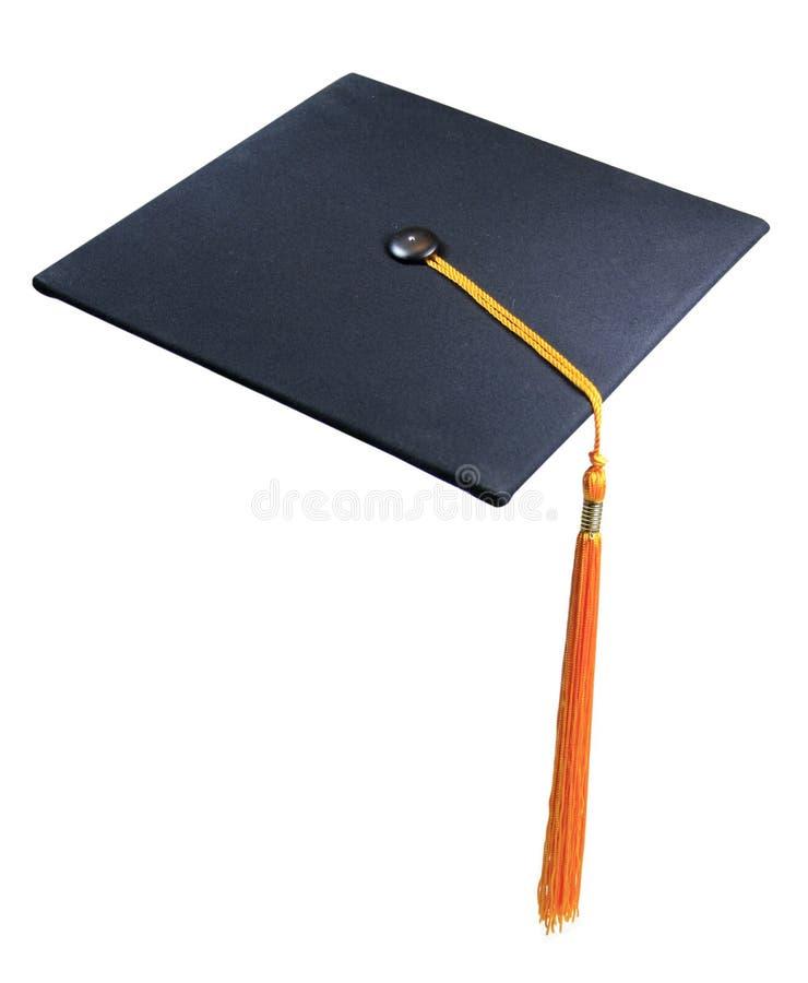 Cappello o protezione di graduazione immagine stock