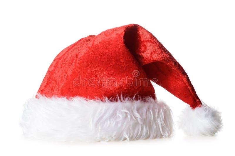 Cappello rosso della Santa fotografie stock libere da diritti