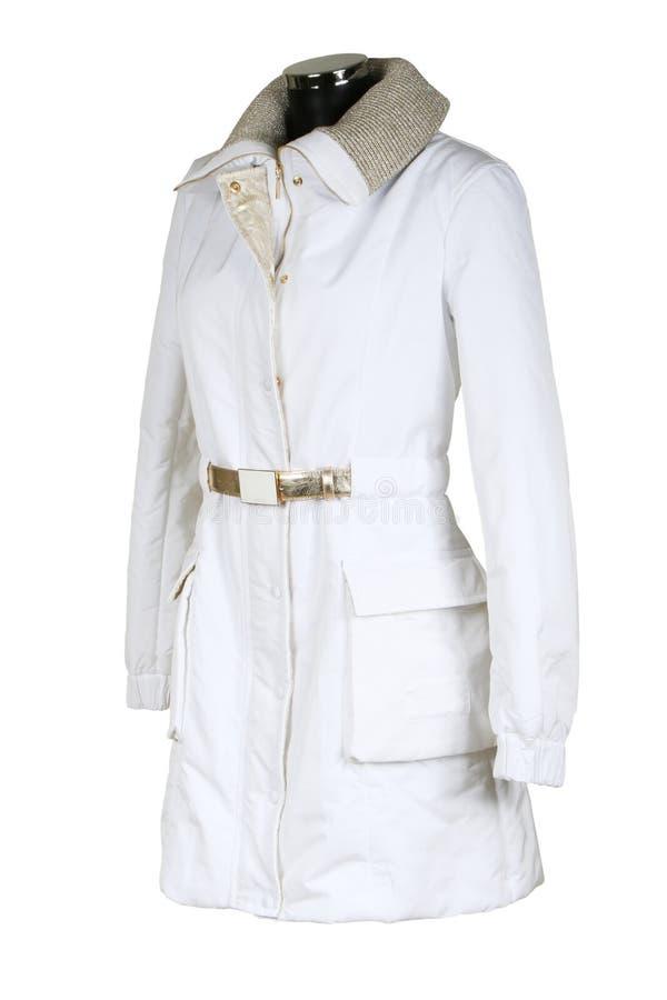 Cappotto alla moda femminile immagine stock