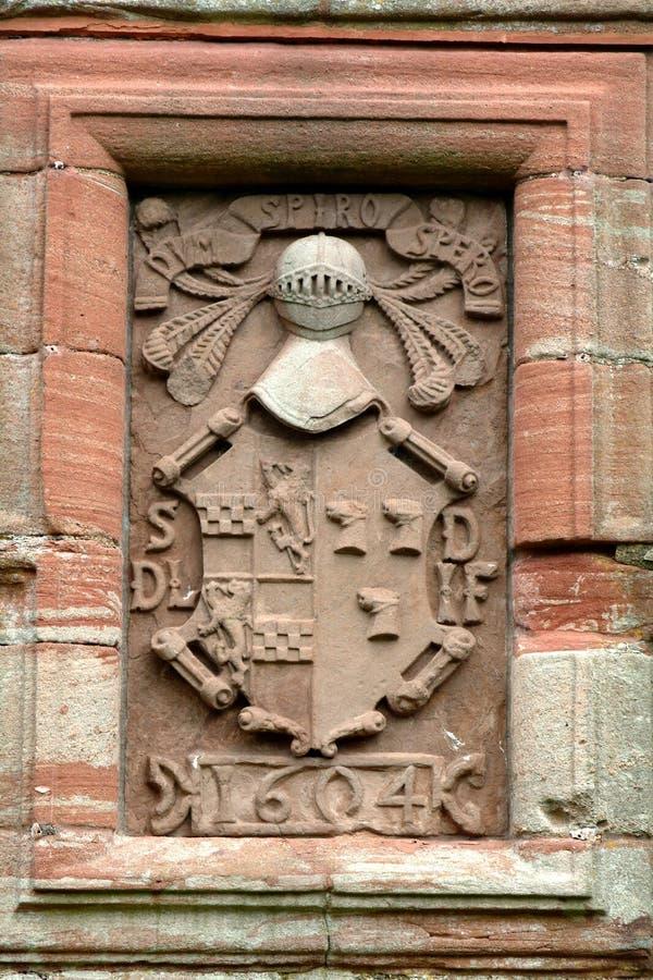 Cappotto delle braccia, Scozia di XVIIesimo secolo immagine stock libera da diritti