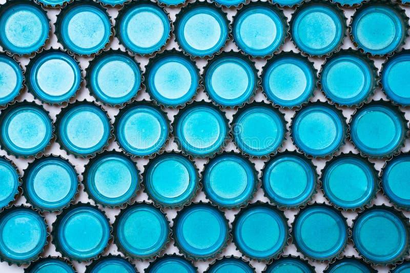 Cappucci della birra immagine stock