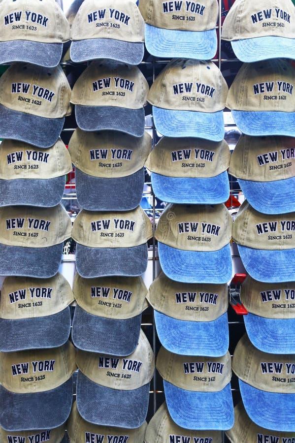 Cappucci sulla vendita a New York fotografie stock libere da diritti