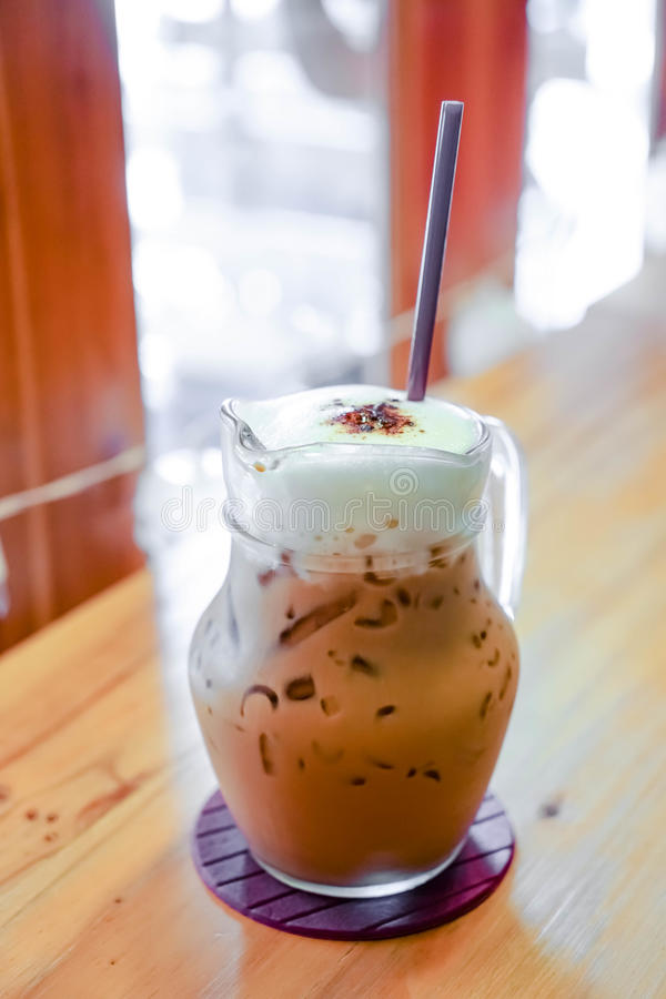 Cappuccino καφέ στοκ εικόνα με δικαίωμα ελεύθερης χρήσης