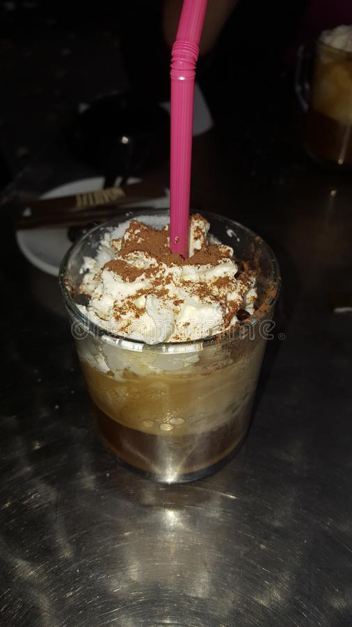 cappuccino royalty-vrije stock foto's