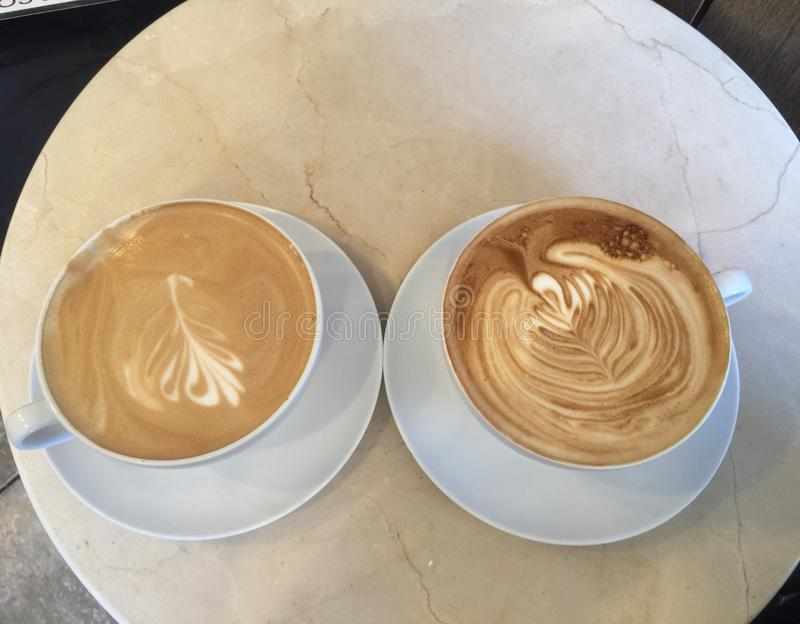 cappuccino zdjęcia royalty free