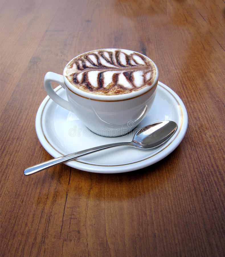Download Cappuccino stock image. Image of love, beverages, aroma - 14157335