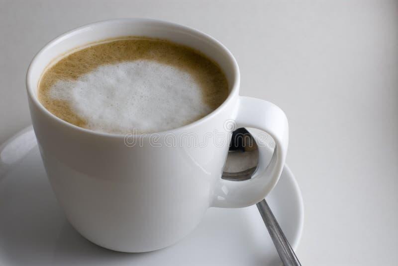 cappuccino, obraz stock