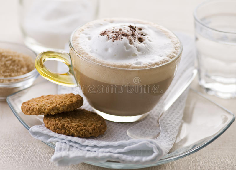 Cappuccino imagens de stock