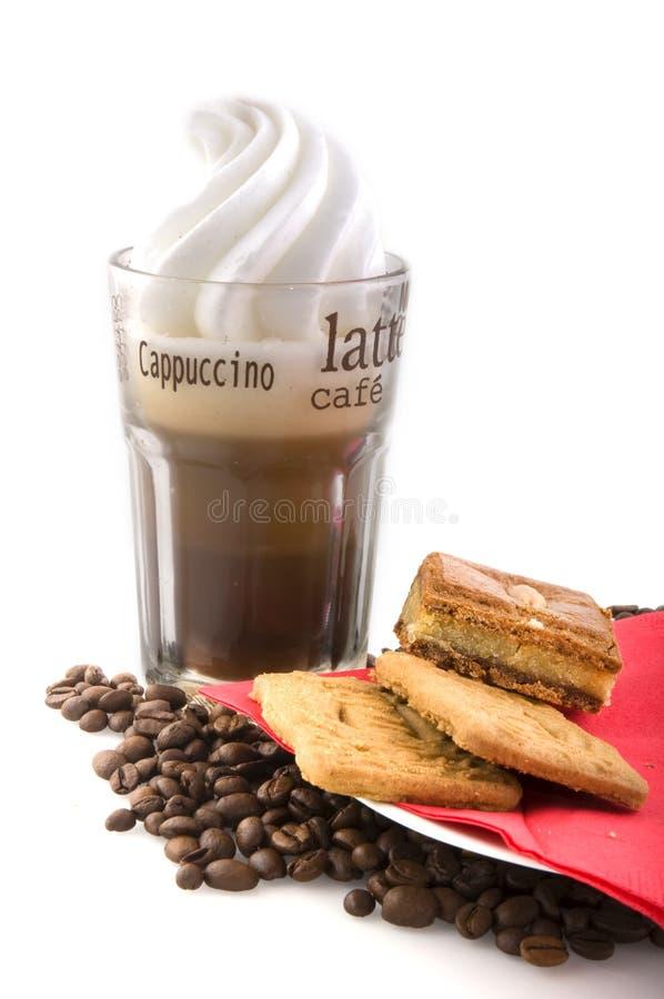 Cappuccino fotografia stock