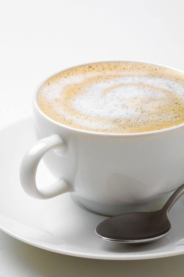 Download Cappuccino photo stock. Image du soucoupe, caféine, liquide - 76084774