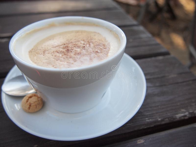 Cappuccino, café, Au Lait, café blanc de Café images stock