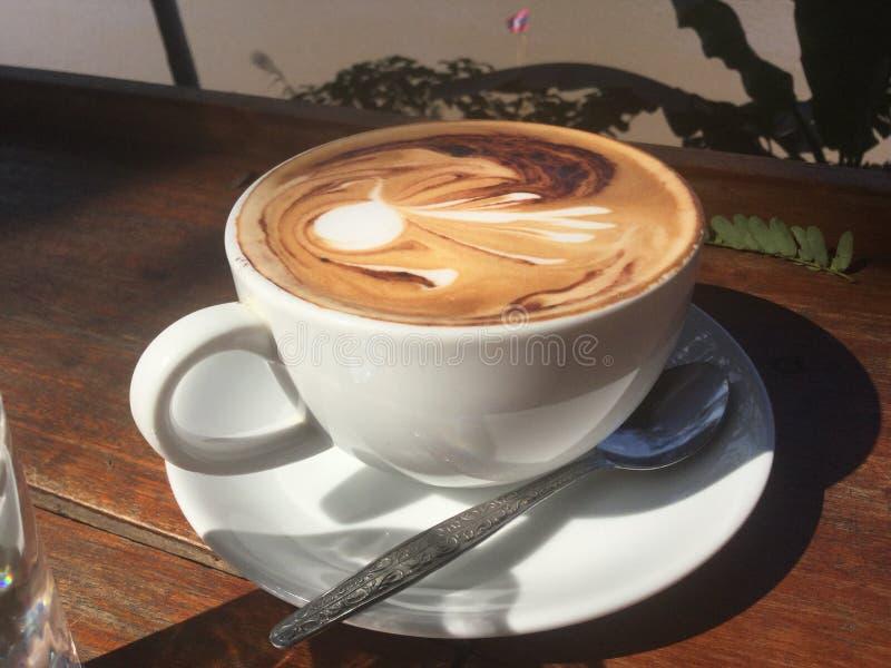 cappuccino Café Mekong River imagem de stock royalty free