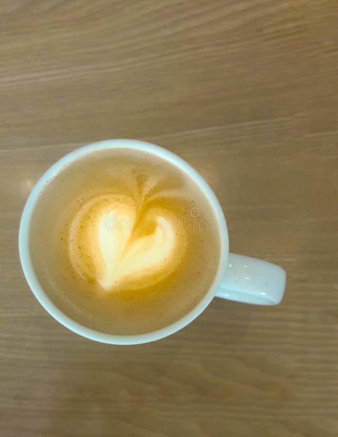 Cappuccino caldo fotografie stock