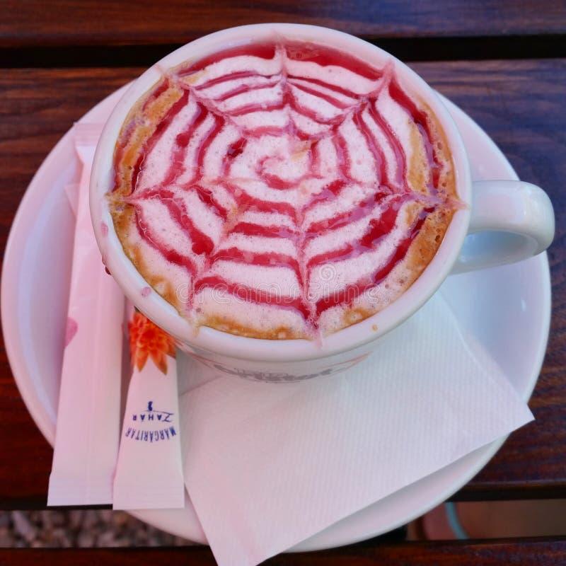 Cappuccino cofee royalty free stock photos
