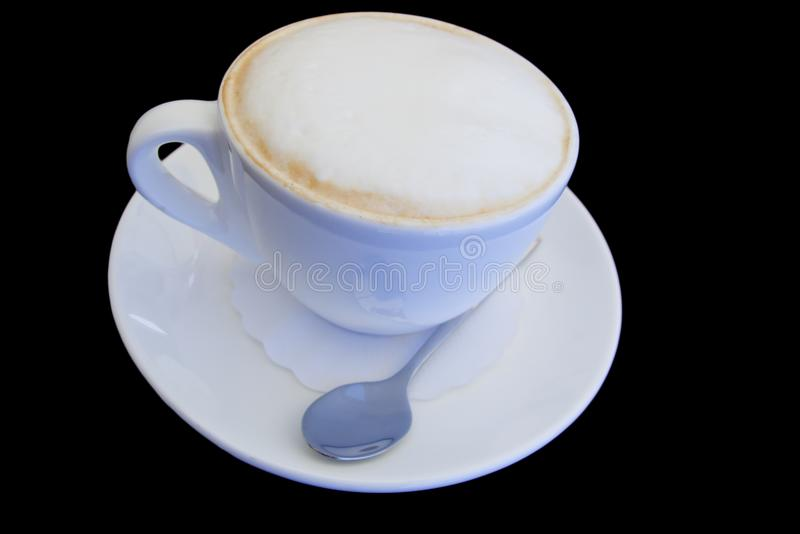 Download Cappuccino cup stock image. Image of color, cream, heat - 6310519