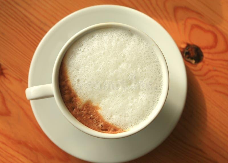 Cappuccino cup fotografia de stock royalty free