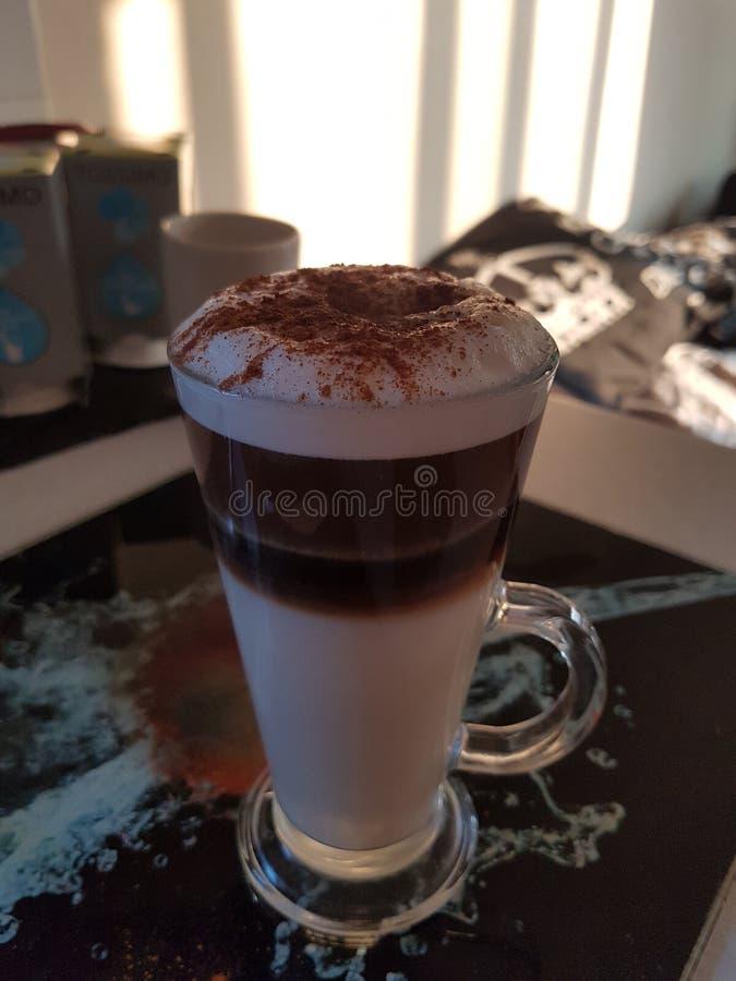 Cappuccino de caramel images libres de droits