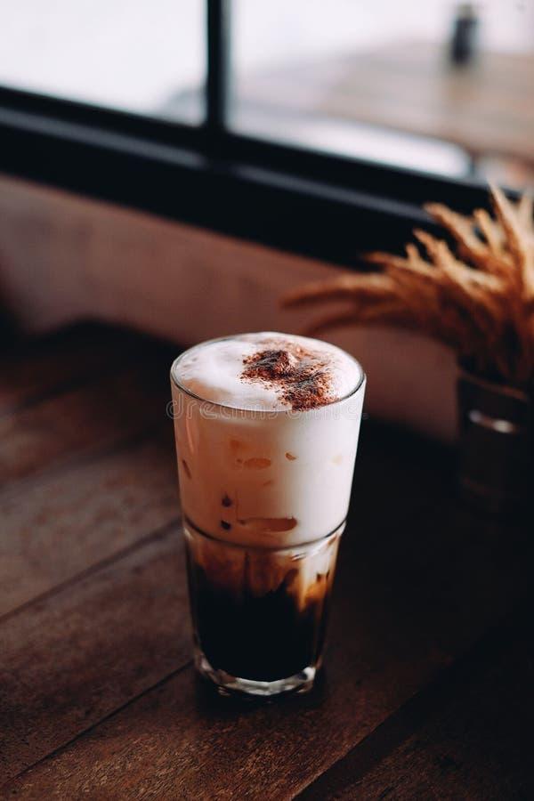 Cappuccino de glace image stock