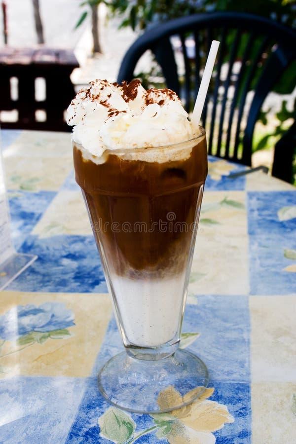 Cappuccino de glace photos libres de droits