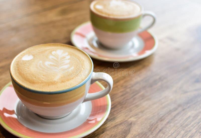 cappuccino fili?anki dwa obraz royalty free