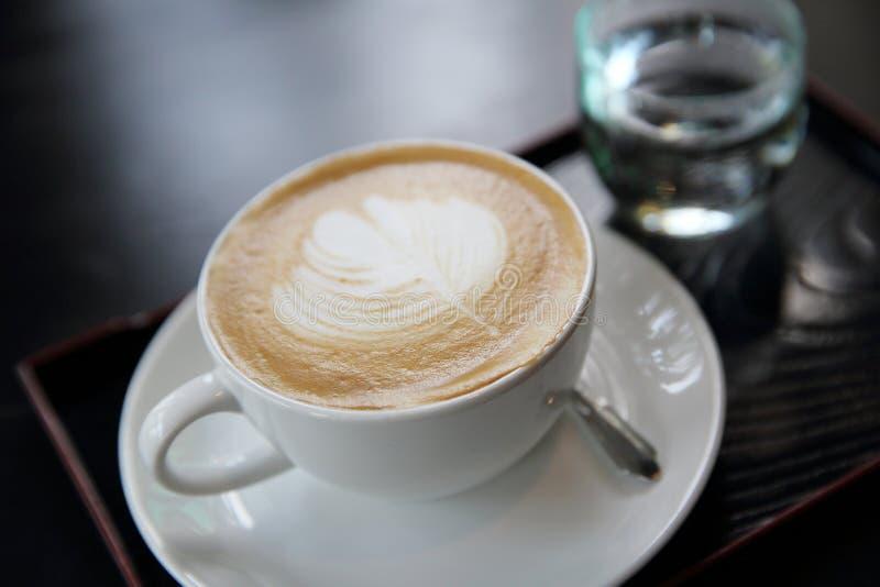 Cappuccino-Kaffee stockfoto
