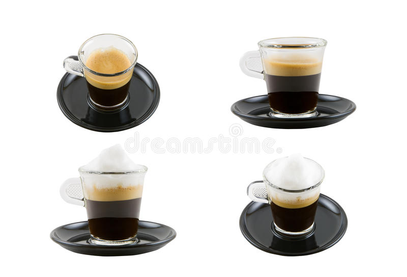 Download Cappuccino kawa espresso obraz stock. Obraz złożonej z kawa - 14517615