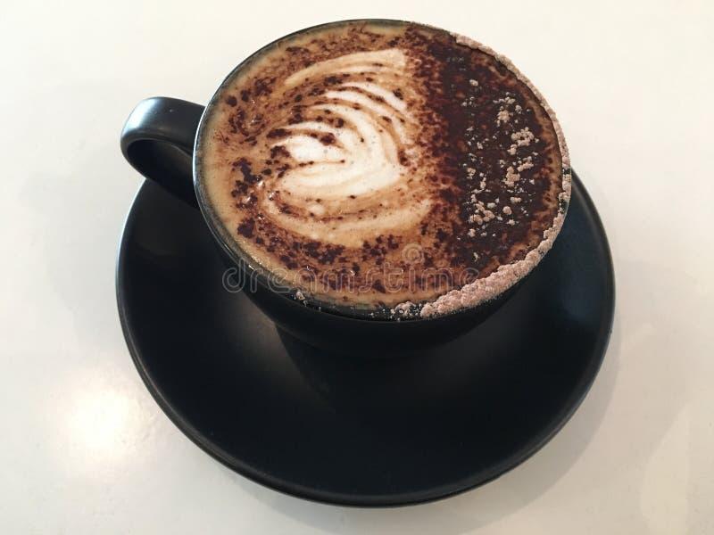 Cappuccino, Marocchino, Coffee, Flat White stock photography