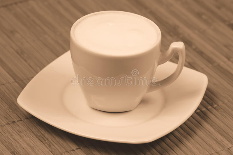 Download Cappuccino sepia stock image. Image of restaurant, sepia - 13433271