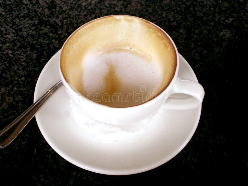 Cappuccino terminado fotos de stock royalty free