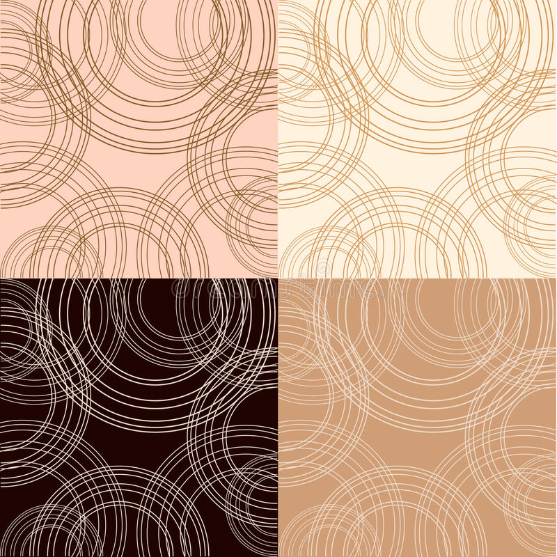 Download Cappuccino, Vanilla And Chocolate Backgrounds Stock Vector - Illustration of city, grunge: 14718805
