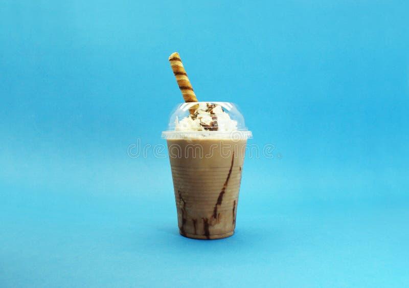 Cappuccino z śmietanką zdjęcie stock