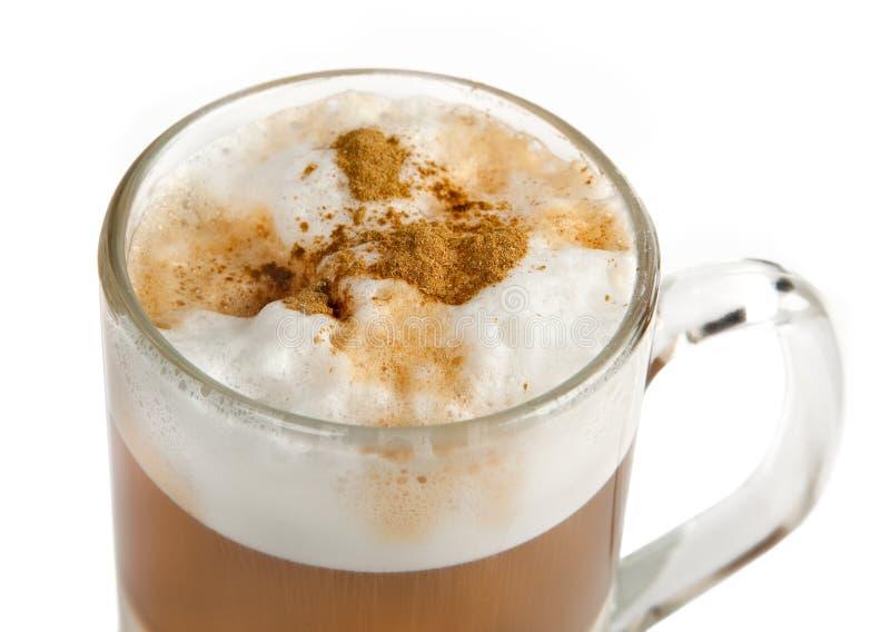 Cappuccinocup stockbild