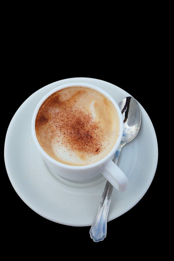 cappuccinokaffe royaltyfri foto