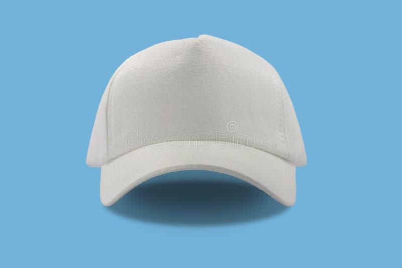 Cappuccio bianco di modo fotografie stock