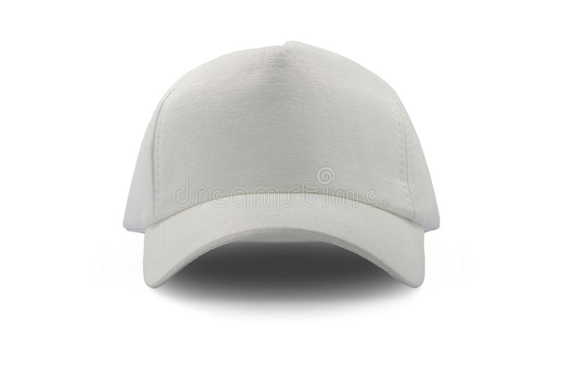 Cappuccio bianco di modo isolato fotografia stock