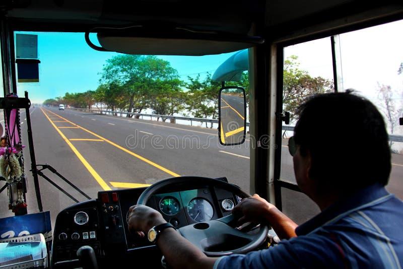 Cappuccio dei driver del camion fotografia stock