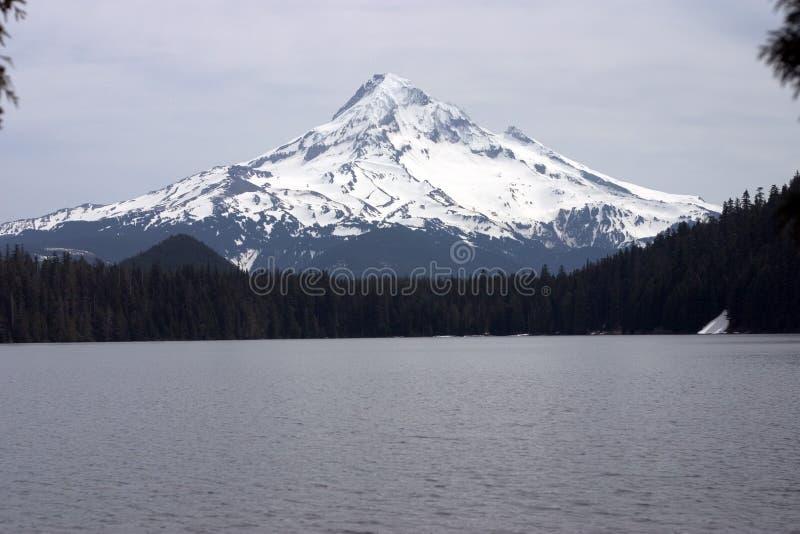 Cappuccio del supporto dal lago perso immagini stock libere da diritti